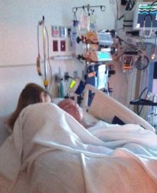Jesse & Mom - Feb 25, 2012