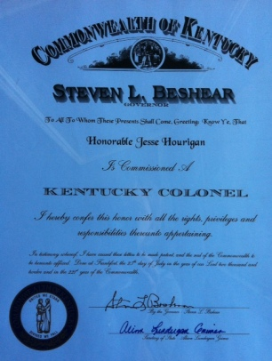 Honorary Kentucky Colonel