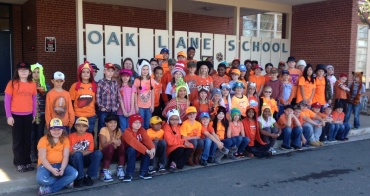 Oak Lane Elementary AIG Students