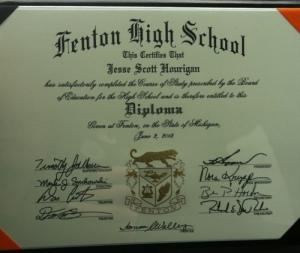 Honorary FHS Diploma