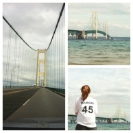 Mackinaw Bridge & Sis