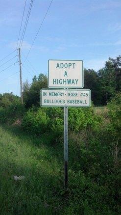 RCS Baseball 'Adopt a Highway #45'
